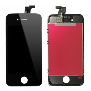 iPhone 4S - LCD Digitizer (original remaded)    Black