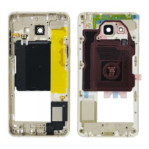 Samsung Galaxy A5 2016 A510 - Chassis Middle Frame Gold