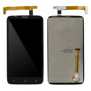 HTC One X G23 S720E - Full Front LCD Digitizer With Frame Black