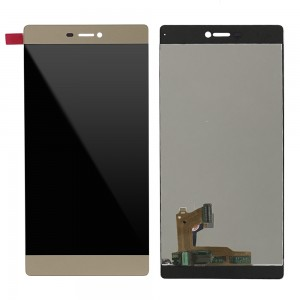 Huawei Ascend P8 - Full Front LCD Digitizer Gold