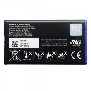 Blackberry Q10 - Battery NX1 2100 mAh