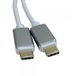Charging Data Sync Cable Type-C to Type-C 2M White