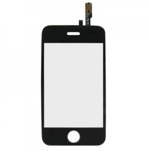 iPhone 3G - Front Glass Digitizer Black