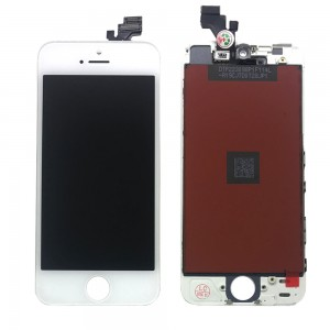iPhone 5 - LCD Digitizer (original remaded) White
