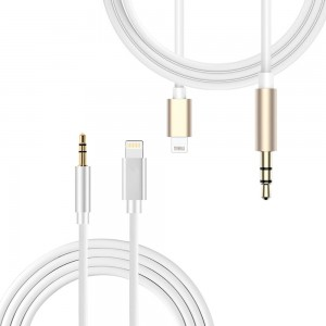 iPhone 7 / 7 Plus - Lightning 8 pin to 3.5mm Male Adapter Audio