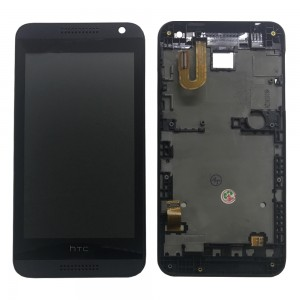 HTC Desire 610 - Full Front LCD Digitizer with Frame Black
