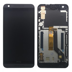 HTC Desire 626 - Full Front LCD Digitizer With Frame Black