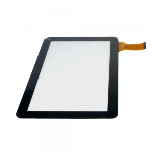 Universal 10.1 inch 50 Pins gy p10025-f1 v1.0 - Front Glass Digitizer Black