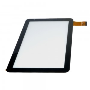 Universal 10.1 inch 50 Pins FPC-CY101072 (YC0320) 00 - Front Glass Digitizer Black