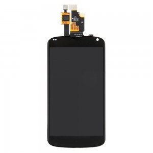 LG Nexus 4 E960 - Full Front LCD Digitizer Black
