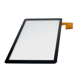 Universal 10.1 inch 50 Pins ZHC-0498B / MF-817-101F-3 FPC - Front Glass Digitizer Black