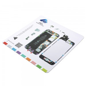 Magnetic Screw Mat for iPhone 5G