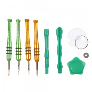 10 in 1 Magnetic Screwdriver Pry Open Tool Kit for iPhone 7