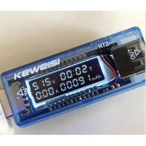 KeWeiSi - KWSV20 LCD USB Charger Volt Current Power Capacity Tester