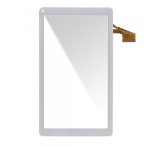 Universal 10.1 inch 50 Pins DH-1012A2-FPC062-V5.0 - Front Glass Digitizer White