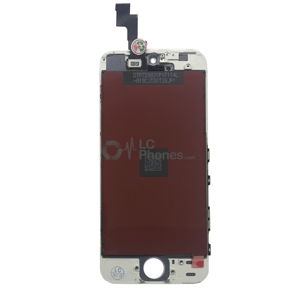 iPhone 5S / SE - LCD Digitizer  (original remaded)   White