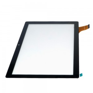 Universal 10.1 inch 45 Pins ZP9193 101 Ver.01 - Front Glass Digitizer Black