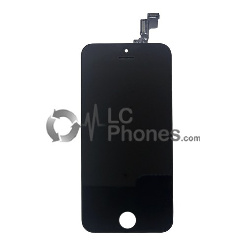 iPhone 5S / SE - LCD Digitizer (original remaded)   Black