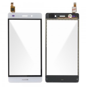 Huawei Ascend P8 Lite - Front Glass Digitizer White