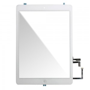 Ipad Air - Front Glass Digitizer With 3M Adhesive Sticker White