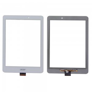 Acer Iconia Tab B1-810 - Front Glass Digitizer White