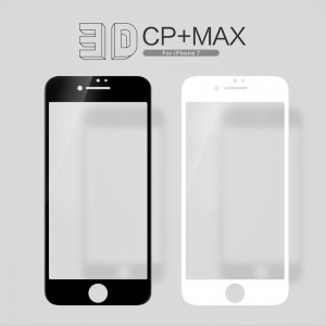 iPhone 7 / iPhone 8 - NillKin 3D CP+ Max Full Coverage Anti-explosion Tempered Glass