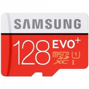 SAMSUNG - OEM 128GB EVO+ TF Micro SD Memory Card Class 10 80Mb/S High Speed
