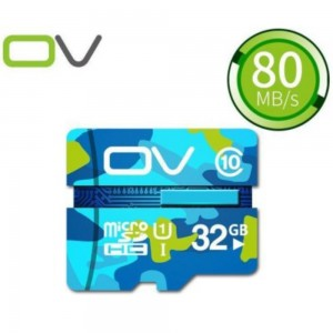 OV Camouflage Edition 32GB 80MB/S High Speed Class 10 Micro SD Memory Card
