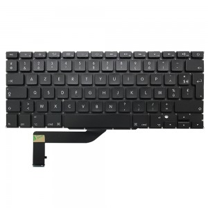 Macbook Pro Retina 15 inch A1398 2012-2015 - French Keyboard FR Layout with Backlight
