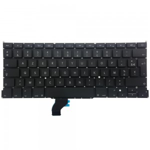 Macbook Pro Retina 13 inch A1502 (LATE 2013-EARLY 2015) - French Keyboard FR Layout with Backlight