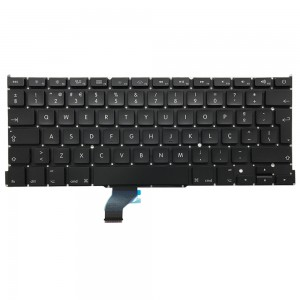 Macbook Pro Retina 13 inch A1502 (LATE 2013-EARLY 2015) - Portuguese Keyboard PT Layout with Backlight