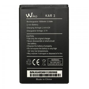 Wiko KAR 3 - Battery