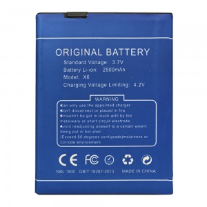 Doogee X6 - Battery