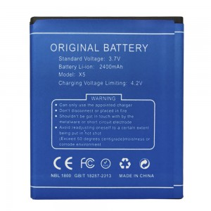Doogee X5 - Battery