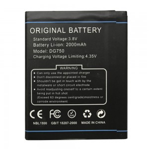 Doogee DG750 - Battery