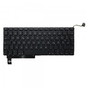 Macbook Pro 15 inch A1286 2009-2012 - German Keyboard DE Layout with Backlight