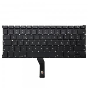 Macbook Air 13 inch A1466 A1369 2011-2014 - German Keyboard DE Layout with Backlight
