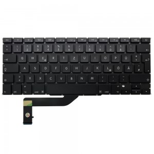 Macbook Pro Retina 15 inch A1398 2012-2015 - German Keyboard DE Layout with Backlight
