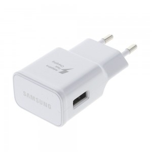 Samsung Travel Adapter - Support Adaptive Fast Charging EU PLUG White EP-TA20EWE
