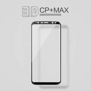 Samsung Galaxy S8 Plus G955 - NillKin 3D CP+ Max Full Coverage Anti-explosion Tempered Glass