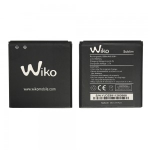 Wiko Sublim - Battery 1800mAh 6.66Wh