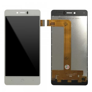 BQ Aquaris U / U Lite / U Plus - Full Front LCD Digitizer White