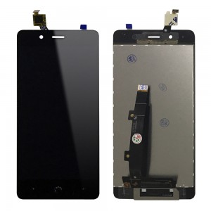 BQ Aquaris X5 Plus - Full Front LCD Digitizer Black