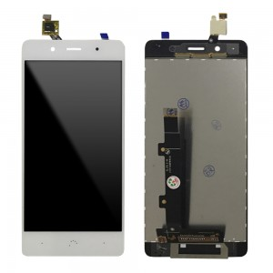 BQ Aquaris X5 Plus - Full Front LCD Digitizer White