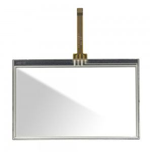 Universal 4.1 inch XA302A01 - Front Glass Digitizer with Frame