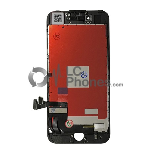 iPhone 7 - LCD Digitizer Black EBS