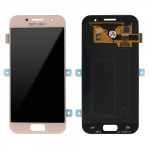 Samsung Galaxy A3 2017 A320 - Full Front LCD Digitizer Pink