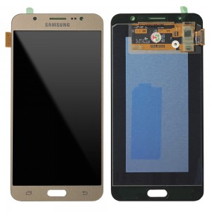 Samsung Galaxy J7 2016 J710 - Full Front LCD Digitizer Gold