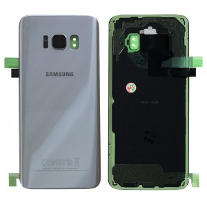 Samsung Galaxy S8 G950F - Battery Cover Original with Camera Lens and Adhesive