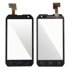 CAT B15Q - Front Glass Digitizer Black